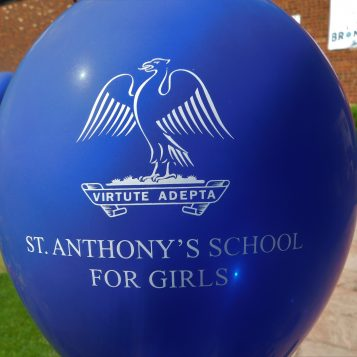 St Anthony's Girls personalised balloon