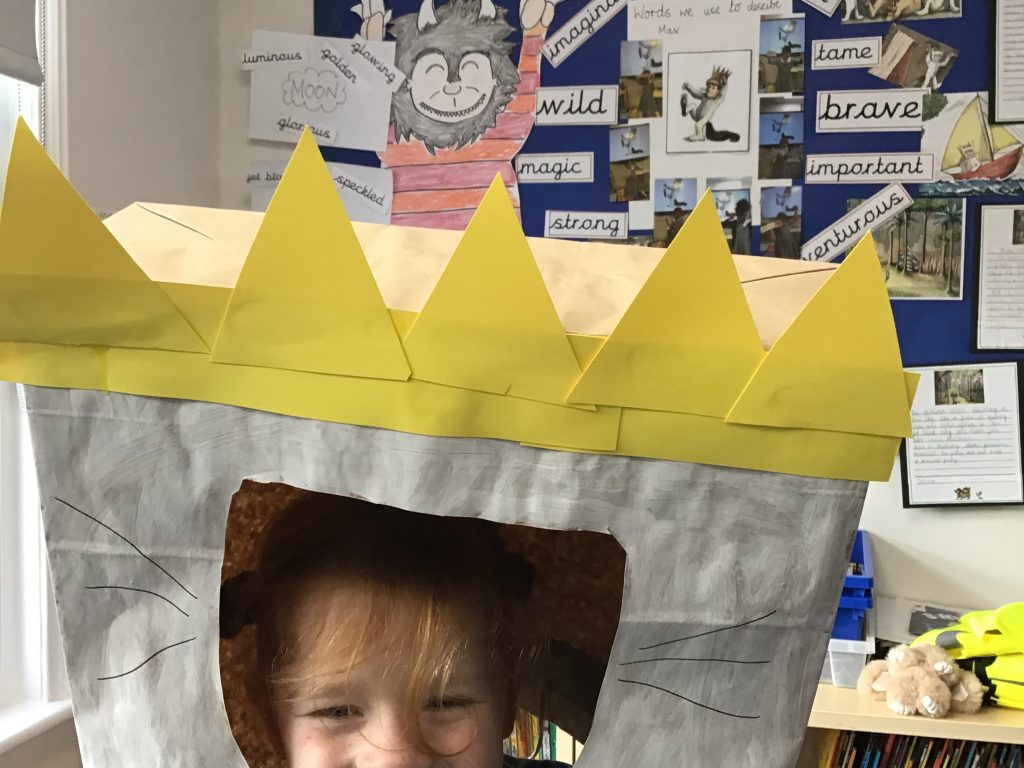 Year 2 exploring Where The Wild Things Are