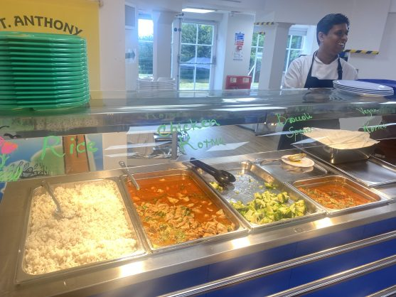St. Anthony's School for Girls lunch