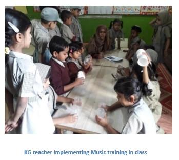 S.A. Aziz School Music