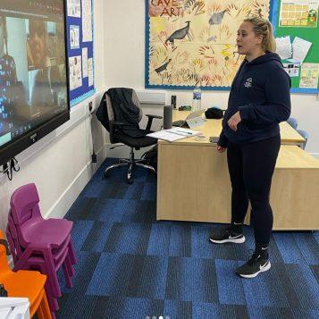 Miss Sammi's remote PE lesson