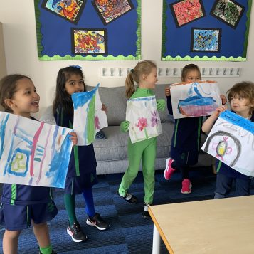 Pupil Earth Day Paintings